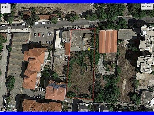 (For Sale) Land Plot for development || Athens South/Tavros - 2.860 Sq.m, 2.400.000€